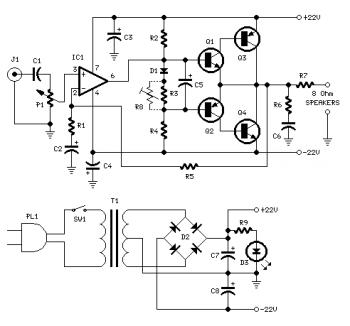 18W Audio Amplifier